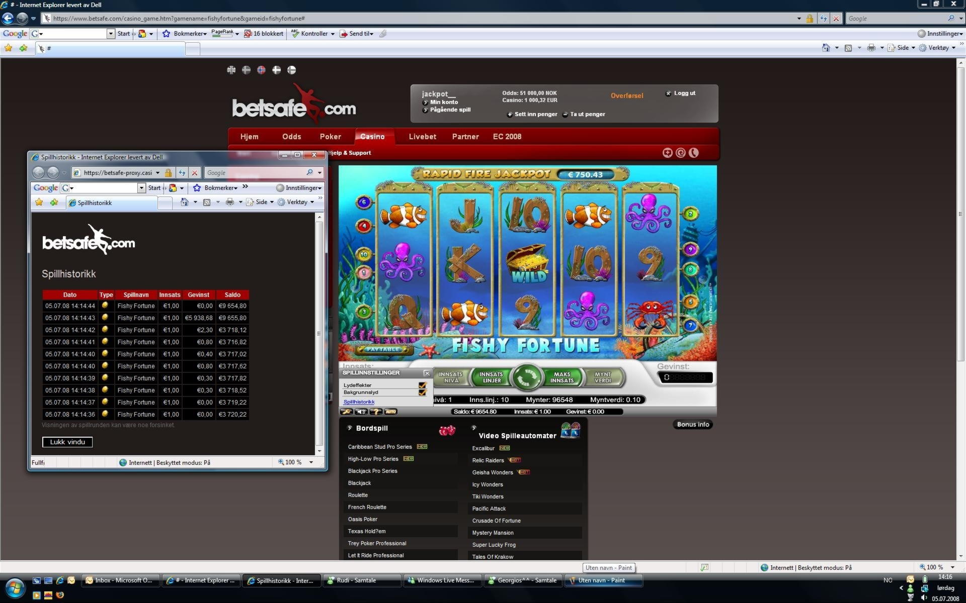 Bonus € 545 freeroll tournaments ad Casino FESTUM