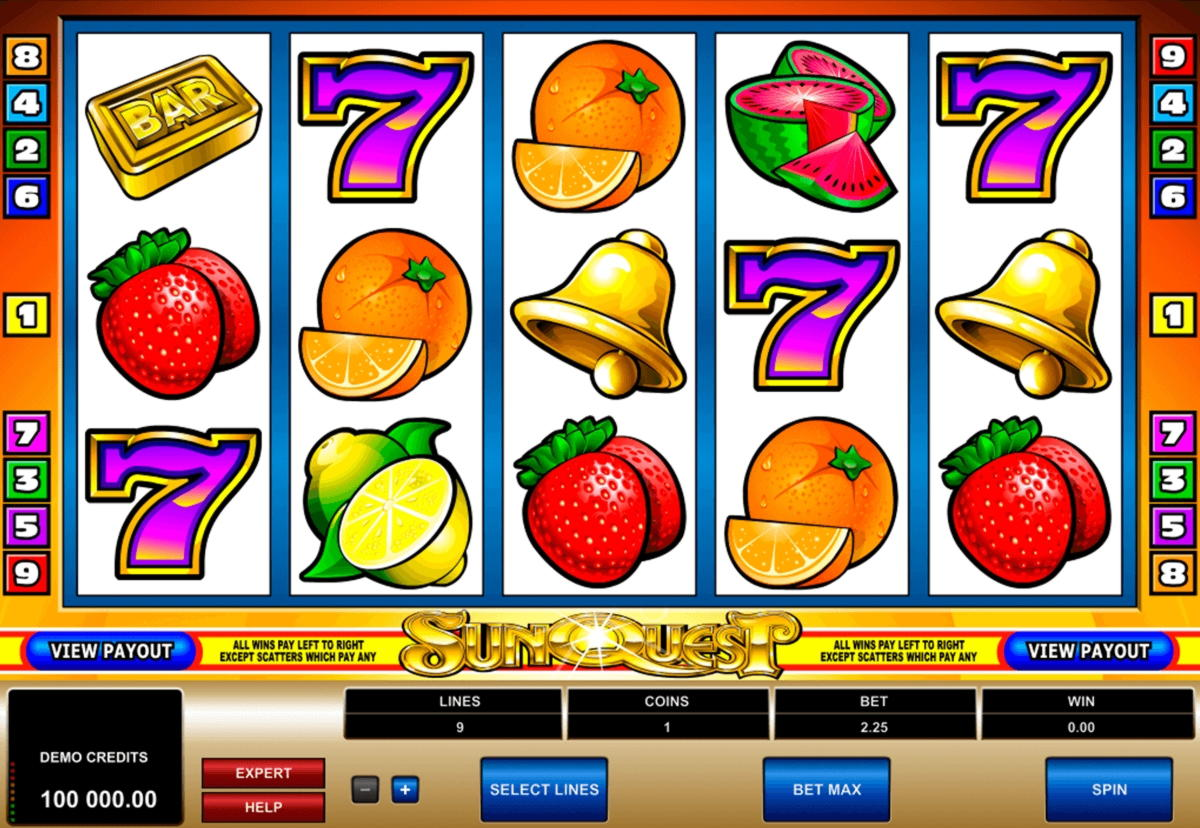 100 Free spins casino at Slots City Online