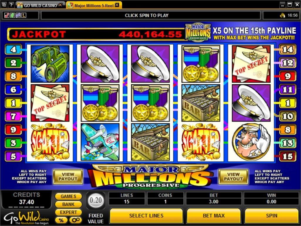 4880 $ Casino bonus sans dépôt aux Jackpots sauvages
