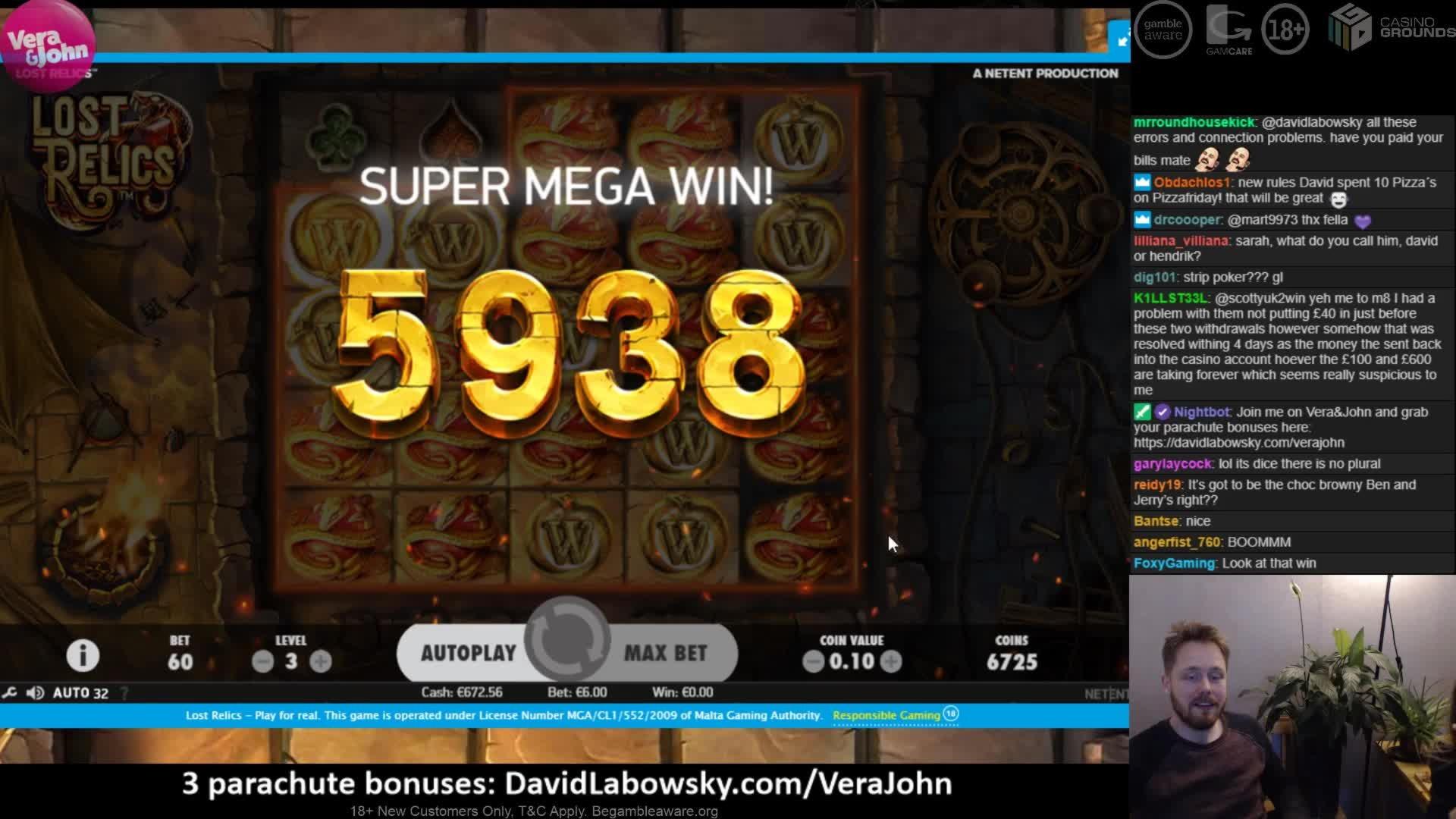 Eur 475 Besplatan čip u Ninja Casino