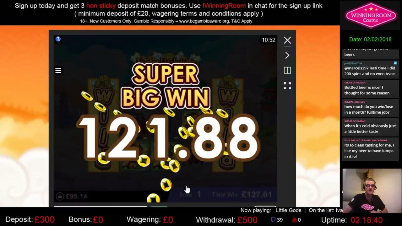 225% Match bei engem Casino bei Slotastic