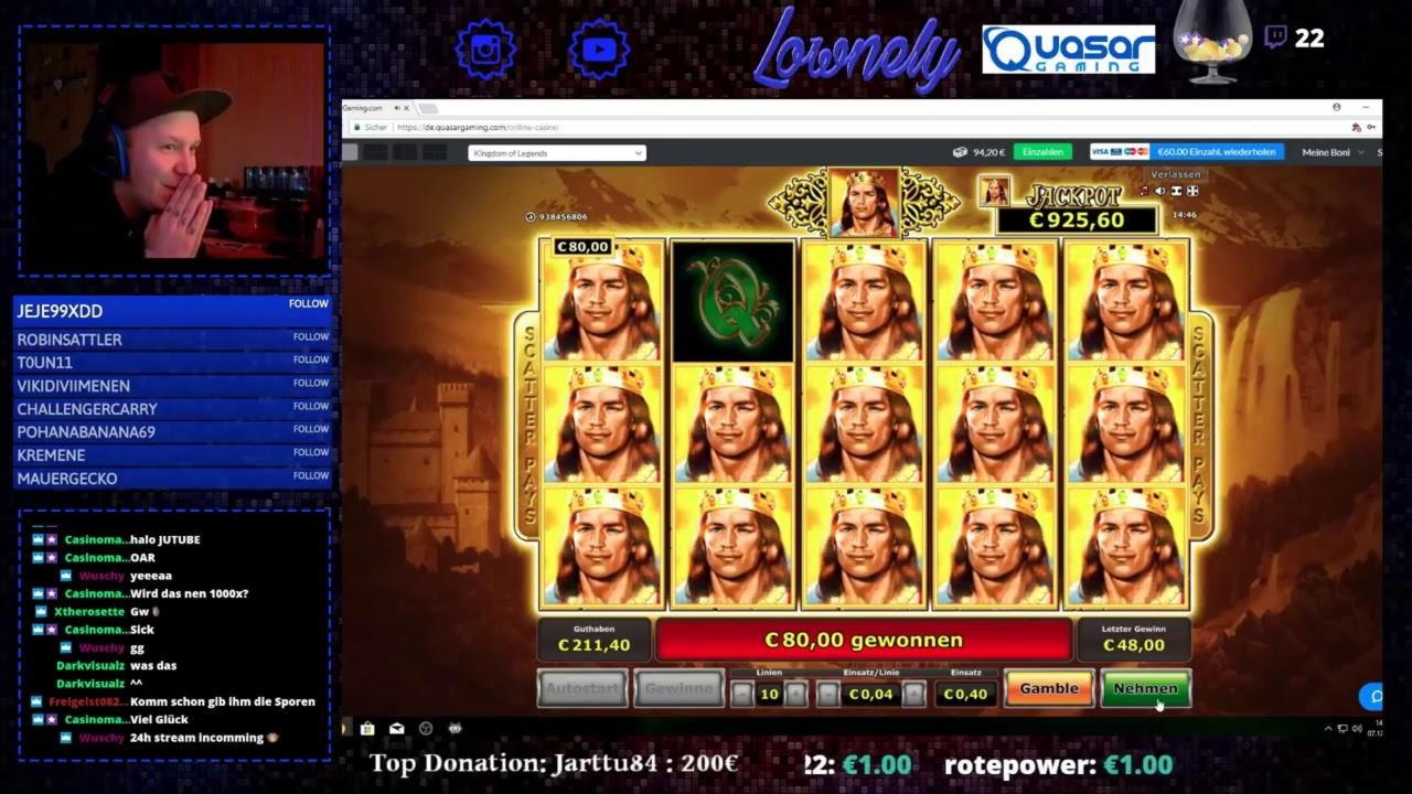 Eur 340 Daily freeroll slot tournament at Villa Fortuna Casino
