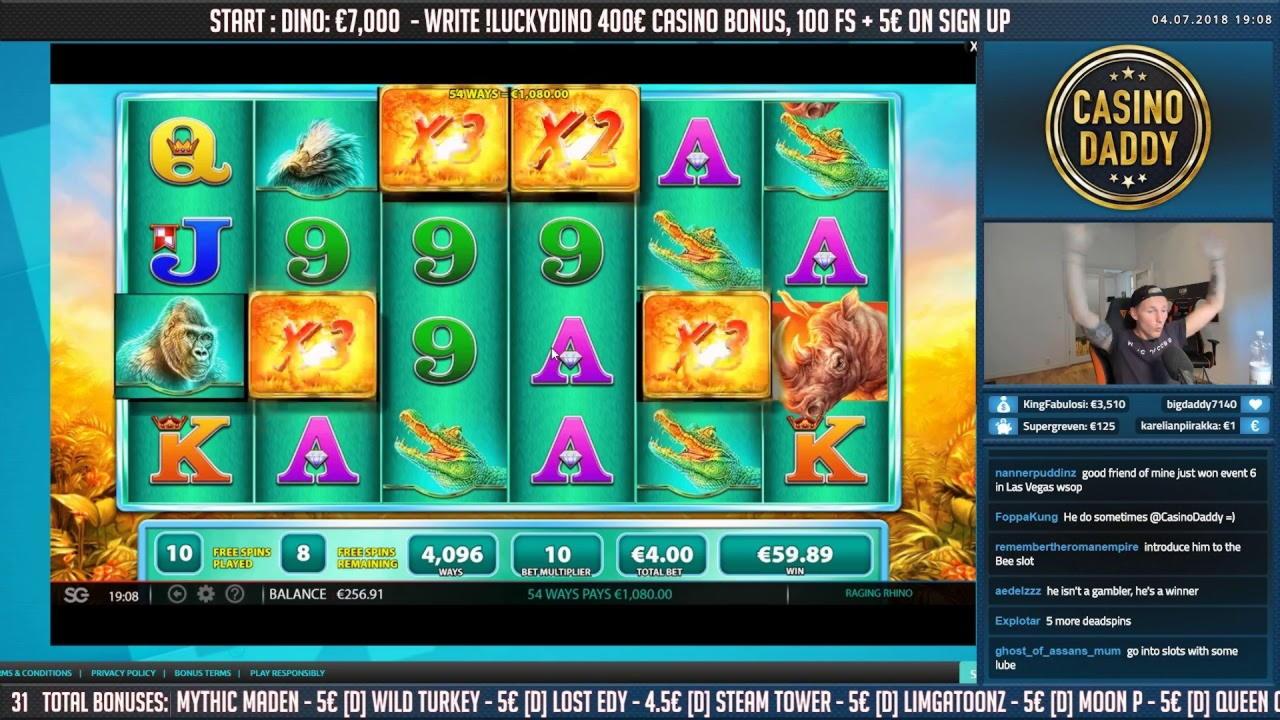 130 free spins casino at Gratorama