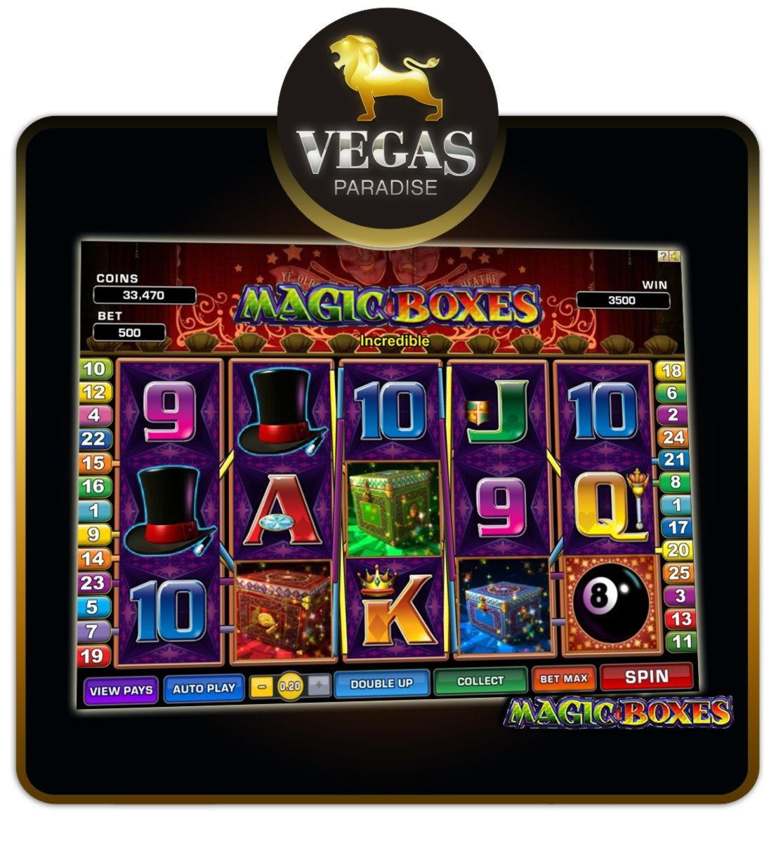 22 free casino spins at Spin Princess