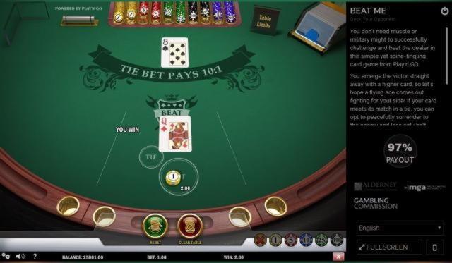 $ 130 ei ole talletusbonus-kasino SC Casinossa