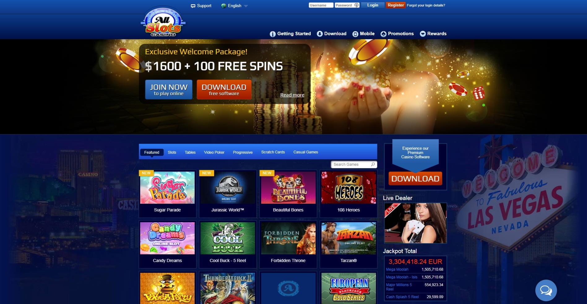 99 free spins no deposit at Jackpot 21