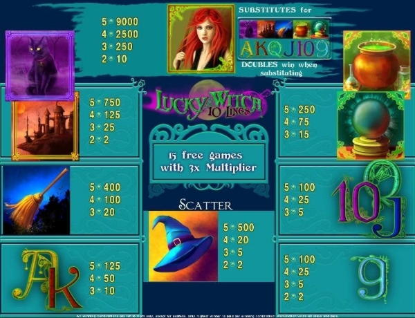 Vegas Luck- ում 33 անվճար խաղ է անցկացվում