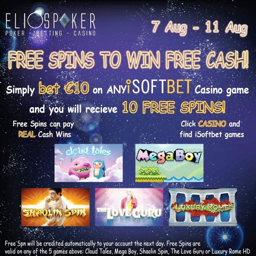 € 775 Free Casino turnir na Inet Bet