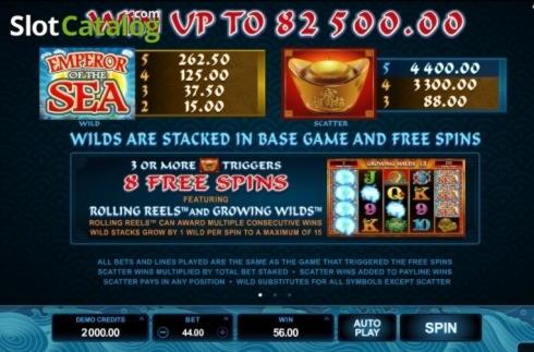 290 Free tourne au casino Atlantis Gold