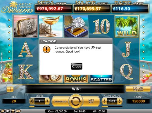 €725 Casino Tournament at Sundae Bingo