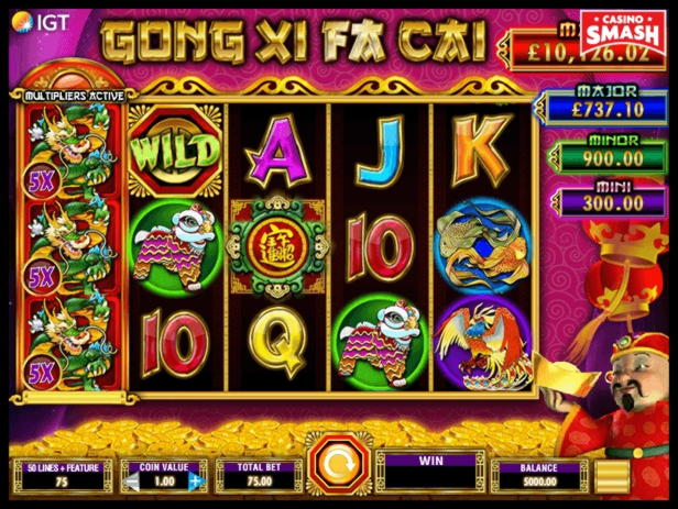 Casino à puce 645 gratuit au Lotus Asia Casino