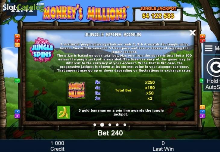 105 Free casino spins at Villa Fortuna Casino