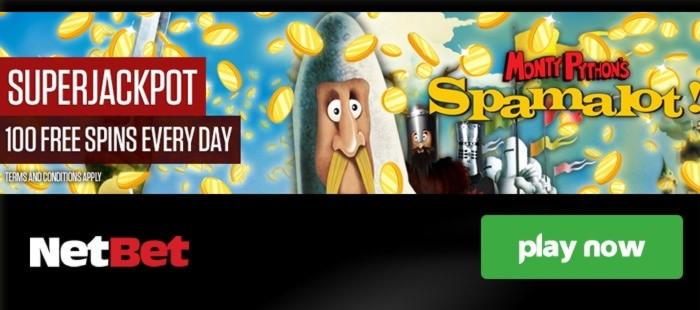 100 Free Spins no deposit casino at Slotastic