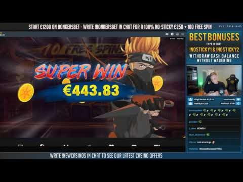 275% No Rules Bonus! au casino MYB