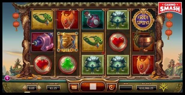 320% Bonus um Ninja Casino