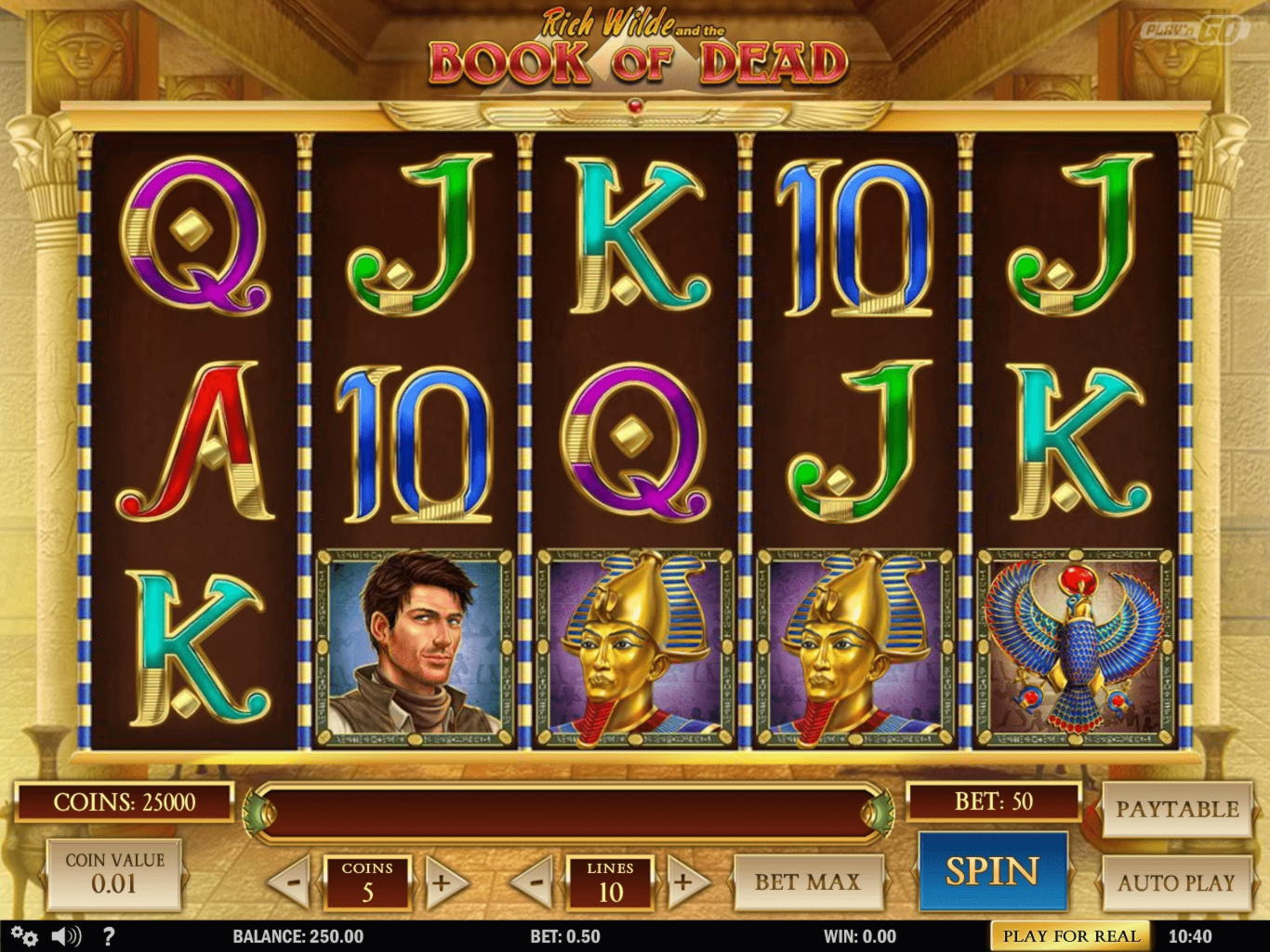 11 Free spins di Gamebookers