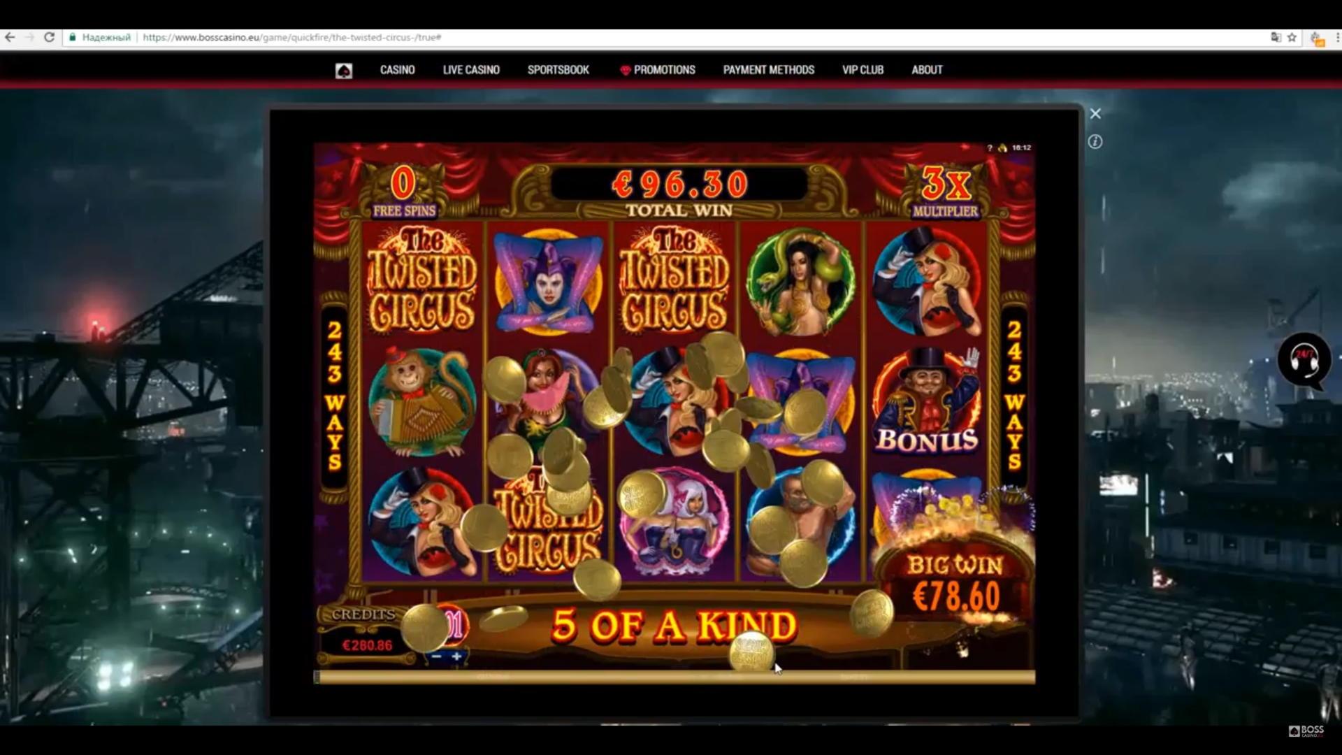 660% Match Bonus Casino sur Casino-X