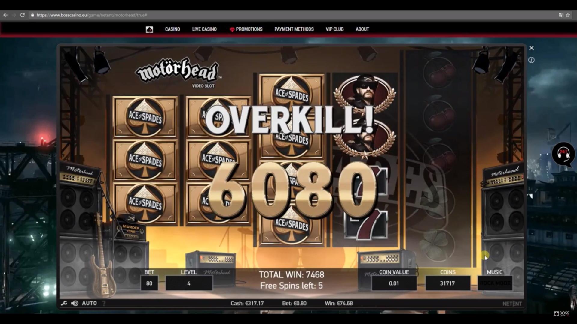 40% Match bonus casino på Sloto'Cash