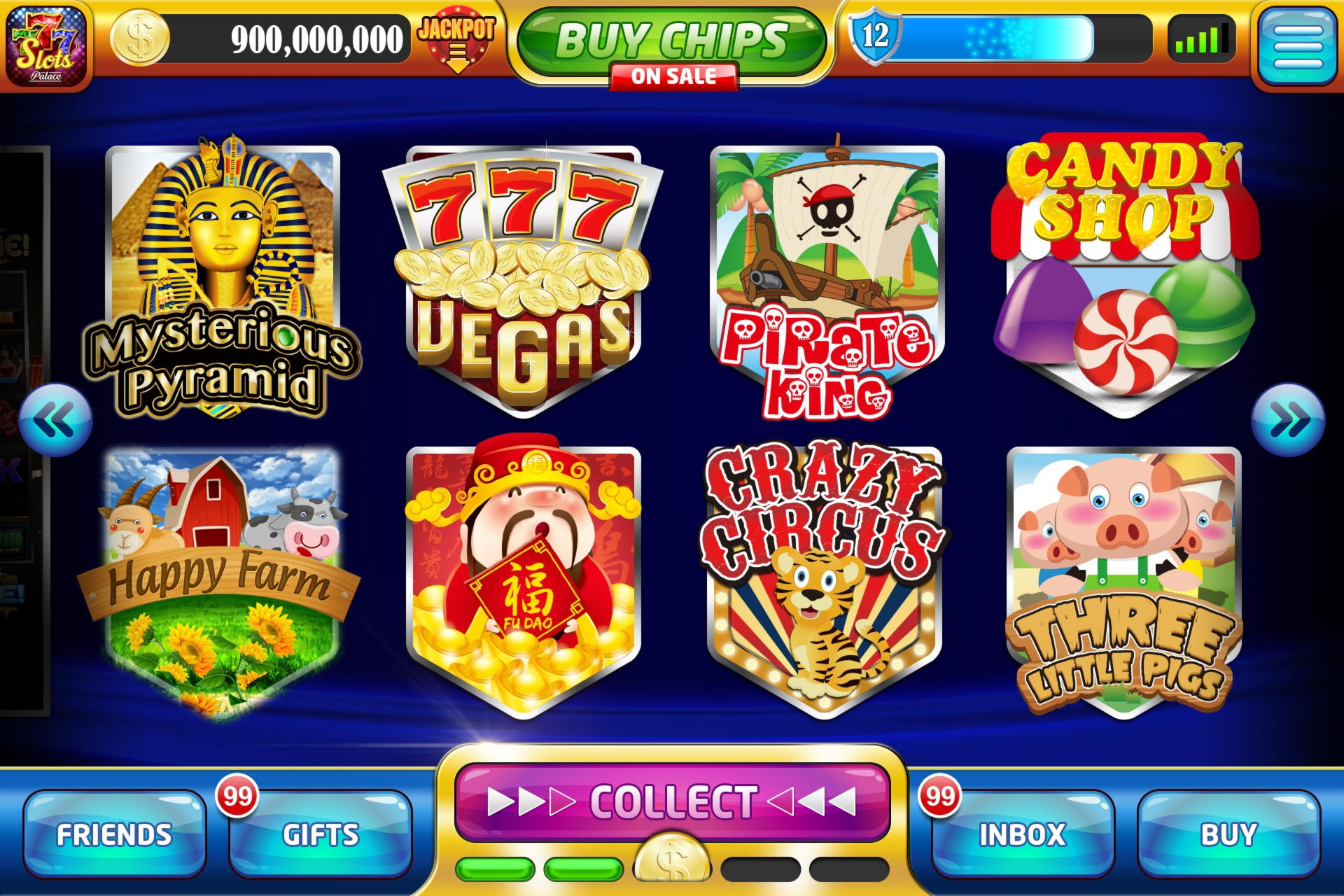 915% Match Bonus at Video Slots