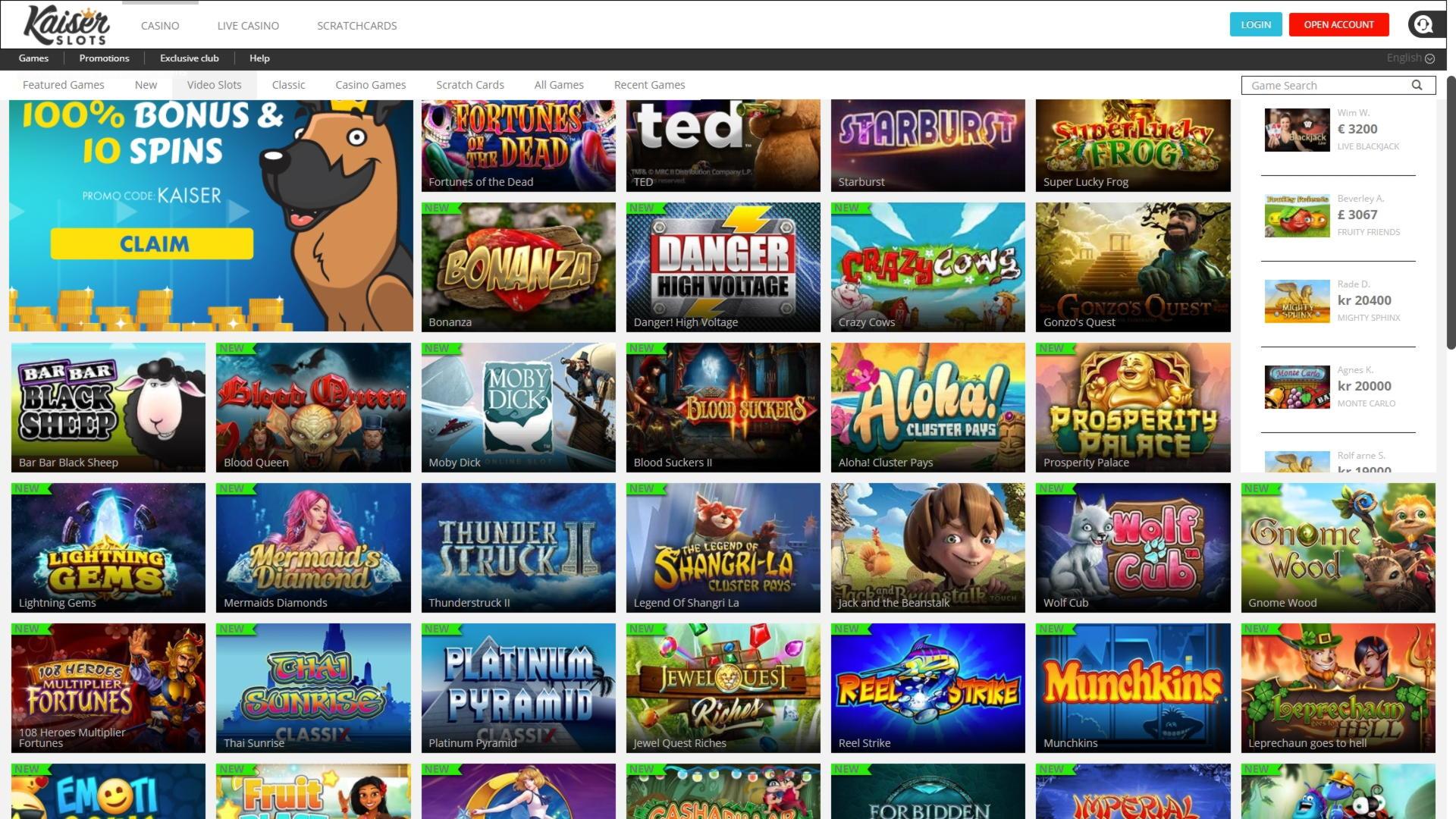300% First Deposit Bonus på Casino.com