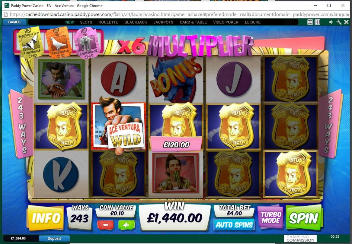 Treasure Island Jackpots-да 275 тегін айналдыру (Sloto Cash Mirror)