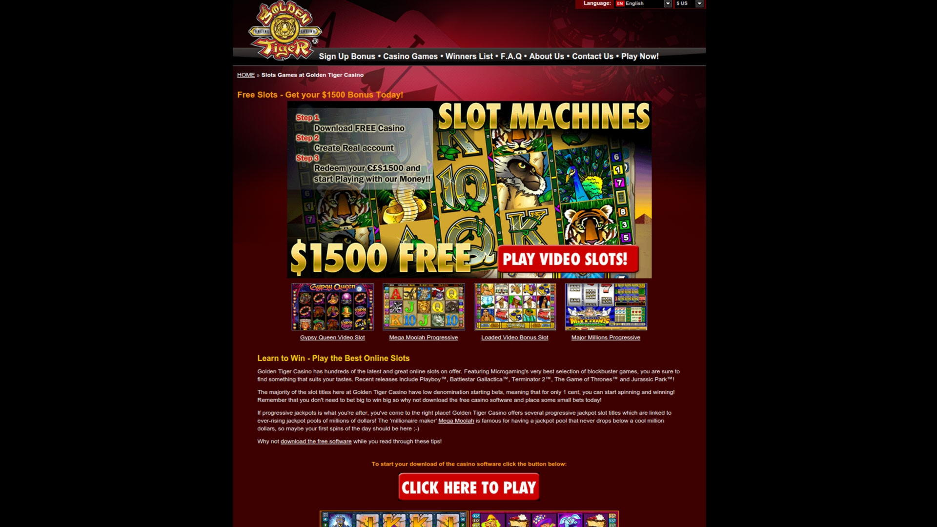 EURO 415 Free Casino Chip sur Guts xpress