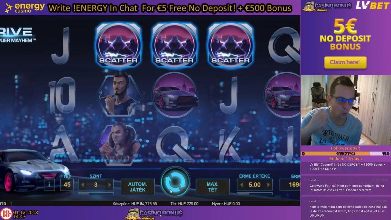 20 Free Sloto'Cash-da heç bir əmanət casino yoxdur