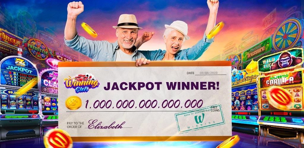 勝者のカジノでの210%ウェルカムボーナス