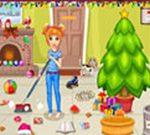 عيد الميلاد يوم تنظيف