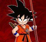 Dragon Ball Goku Fierce Fighting