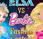 Cuộc thi thời trang Elsa vs Barbie