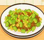 Fava Beans mat Baconen