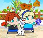 Frozen Elsa Save Olaf