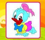 Joyful Donald Coloring