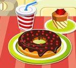 Sulaminen Donut koristelu