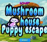 Mushroom House Puppy Escape