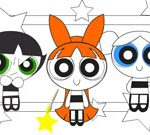 PowerPuff Girls Coloring