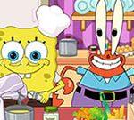 SpongeBob Kitchen Slacking