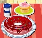 Decorazione ciambella zuccherata