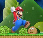 Super Mario VS Pou