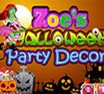 Zoe's Halloween Party Decor