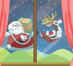 Santa Claus Gift Delivery