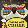 Butterfly Chocolate Cake - Vaření s Emkou