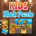 Puzzle dei blocchi dei bambini