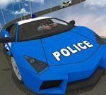 Mahdoton poliisiautorada 3D 2020