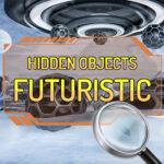 Verstoppt Objekter Futuristesch