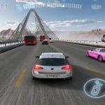 Магистрала състезателни автомобили игра 3d