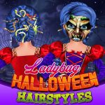 Ladybug Halloween Hairstyles