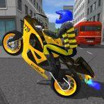 Police MotorBike Race Simulator 3D