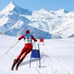 Mô phỏng trượt tuyết Slalom